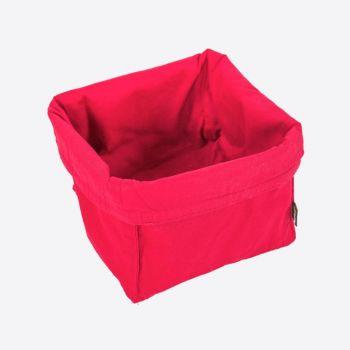 Point-Virgule bread basket red 20x20x20cm