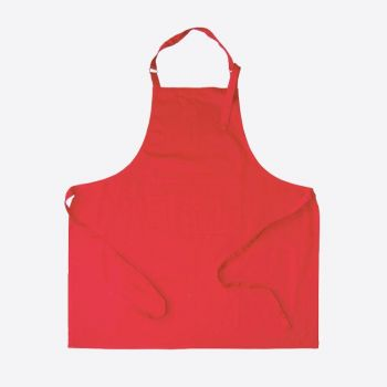 Point-Virgule apron red 85x90cm