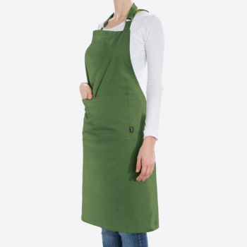 Point-Virgule apron dill green 85x90cm
