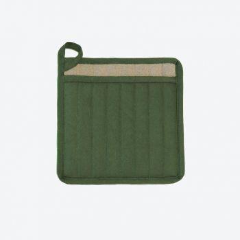 Point-Virgule pot holder dill green 22x22cm (per 6pcs)