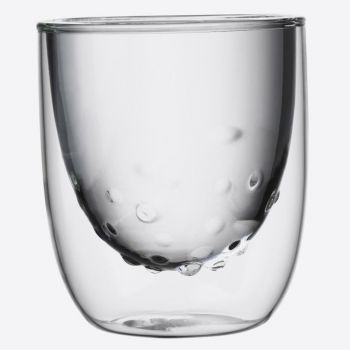 QDO Elements set of 2 double-walled glasses Water 210ml