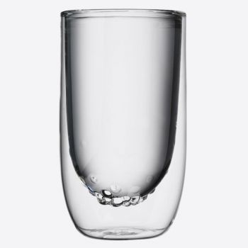 QDO Elements set of 2 double-walled glasses Water 350ml