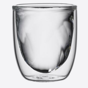 QDO Elements set of 2 double-walled glasses Fire 75ml