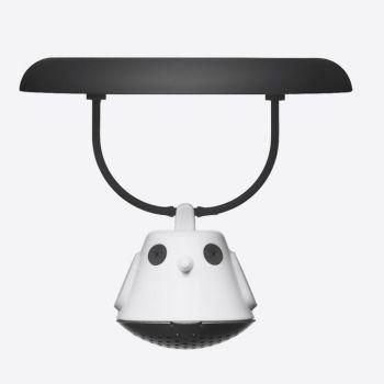 QDO tea egg for mug Birdie Swing black Ø 9.5cm H 5cm