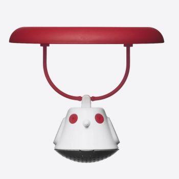 QDO tea egg for mug Birdie Swing red Ø 9.5cm H 5cm