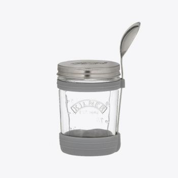 Kilner set to go set for soup with glass jar and spoon 350ml