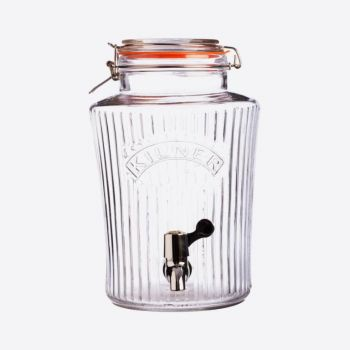 Kilner vintage drinks dispenser with tap 5L (per 2pcs)