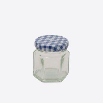 Kilner hexagonal glass twist top jar 48ml (12pcs/disp.)