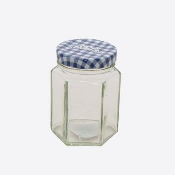 Kilner hexagonal glass twist top jar 110ml (12pcs/disp.)