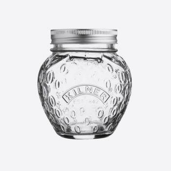 Kilner glass conserving jar strawberry 400ml