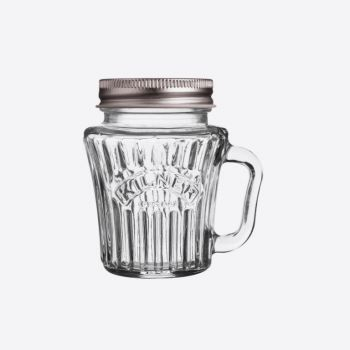 Kilner vintage glass mini handled jar with silver-coloured lid 110ml (12pcs/disp.)