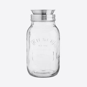 Kilner glass spiralizer jar set 1L
