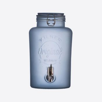 Kilner drinks dispenser Frosted blue 5L (per 2pcs)