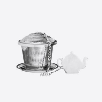 Price & Kensington Speciality stainless steel infuser with drip tray in ø 5.5cm