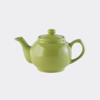 Price & Kensington glossy ceramic 2-cup teapot green 450ml (per 3pcs)