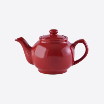 Price & Kensington glossy ceramic 2-cup teapot red 450ml