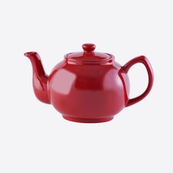 Price & Kensington glossy ceramic 6-cup teapot bright red 1.1L