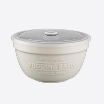 Mason Cash Innovative Kitchen pudding basin with sealing lid ø 15.5cm H 9cm