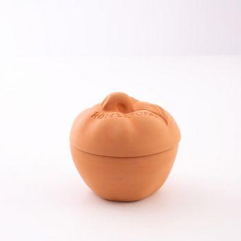 Römertopf apple ceramic oven dish ø 14cm H 13cm