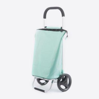 Rixx shopping trolley ice green 38L