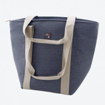 Rixx shoulder cooler bag dark blue 44x22x34cm
