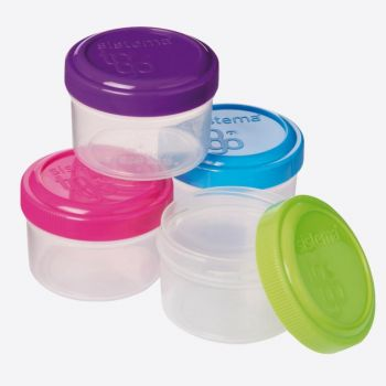 Sistema To Go set of 4 containers for dressing 35ml (12 ass.)