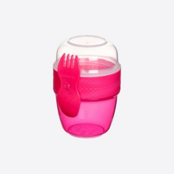 Sistema To Go snackbox Snack Capsule with spoon/fork 515ml (6 ass.)
