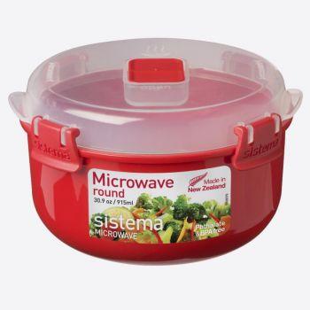 Sistema Microwave round bowl 915ml (per 6pcs)