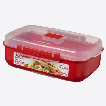 Sistema Microwave rectangular bowl 1.25L (per 6pcs)
