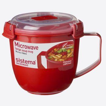 Sistema Microwave soup mug large 900ml (per 4pcs)