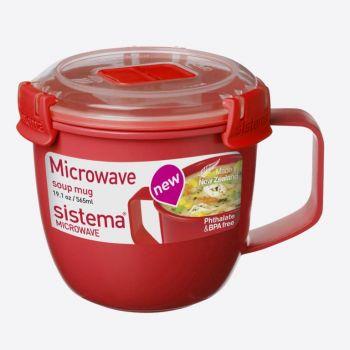 Sistema Microwave soup mug small 565ml (per 6pcs)