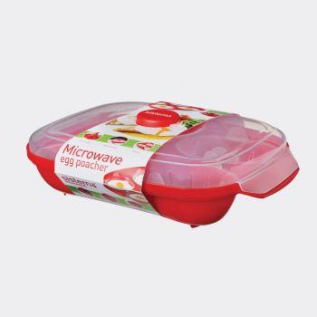 Sistema Microwave Egg Poacher microwave bowl (per 3pcs)
