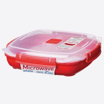 Sistema Microwave plate medium 880ml (per 6pcs)