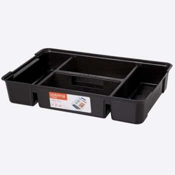 Sistema Storage tray black (per 6pcs)