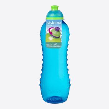 Sistema Lunch drinking bottle Twist n Sip blue 620ml (per 12pcs)