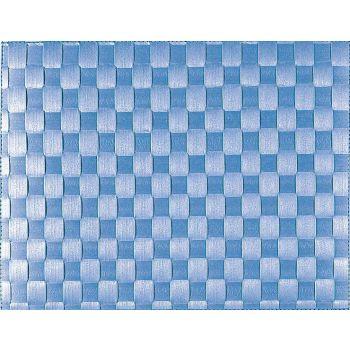 Saleen wide woven plastic placemat navy 30x40cm