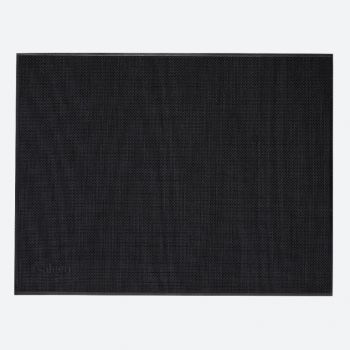 Saleen Uni fine woven plastic placemat zwart 32x42cm