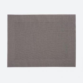 Saleen Rahmen fine woven plastic placemat taupe 32x42cm