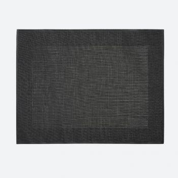 Saleen Rahmen fine woven plastic placemat anthracite 32x42cm