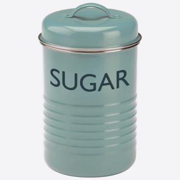 Typhoon Vintage sugar storage box blue ø 12cm H 19.5cm
