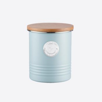 Typhoon Living blue tea storage ø 12cm H 14cm