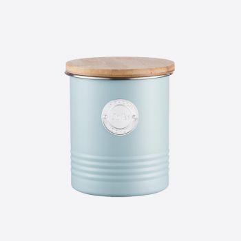 Typhoon Living blue coffee storage ø 12cm H 14cm