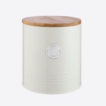 Typhoon Living cream cookie storage ø 16cm H 18cm