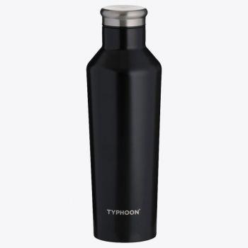 Typhoon Pure double-walled vacuum flask in stainless steel black 500ml
