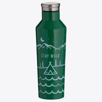 Typhoon Pure double-walled vacuum flask in stainless steel Stay Wild 500ml