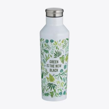 Typhoon Pure double-walled vacuum flask in stainless steel Green Is The New Black 500ml