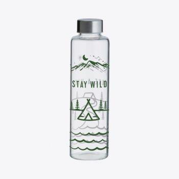 Typhoon Pure glass bottle Stay Wild 600ml