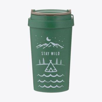 Typhoon wheat fiber travel mug Stay Wild 380ml
