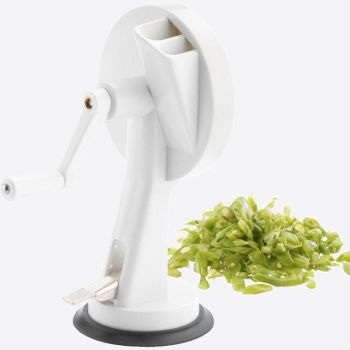 Westmark bean cutter in plastic and stainless steel white 12.2x14.1x22cm