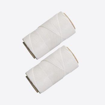 Westmark set of 2 polyester roast strings white 60m